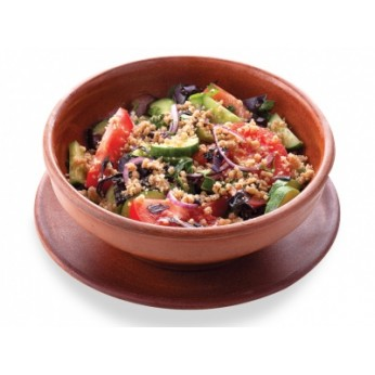 Svaigu dārzeņu salāti gruzīnu gaumē