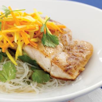 Karstie zivju ēdieni
